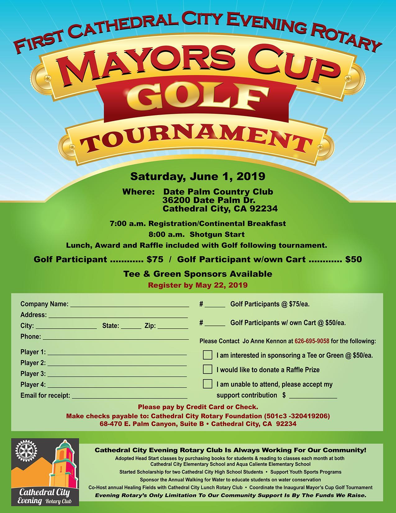Mayor's Cup Golf Tournament