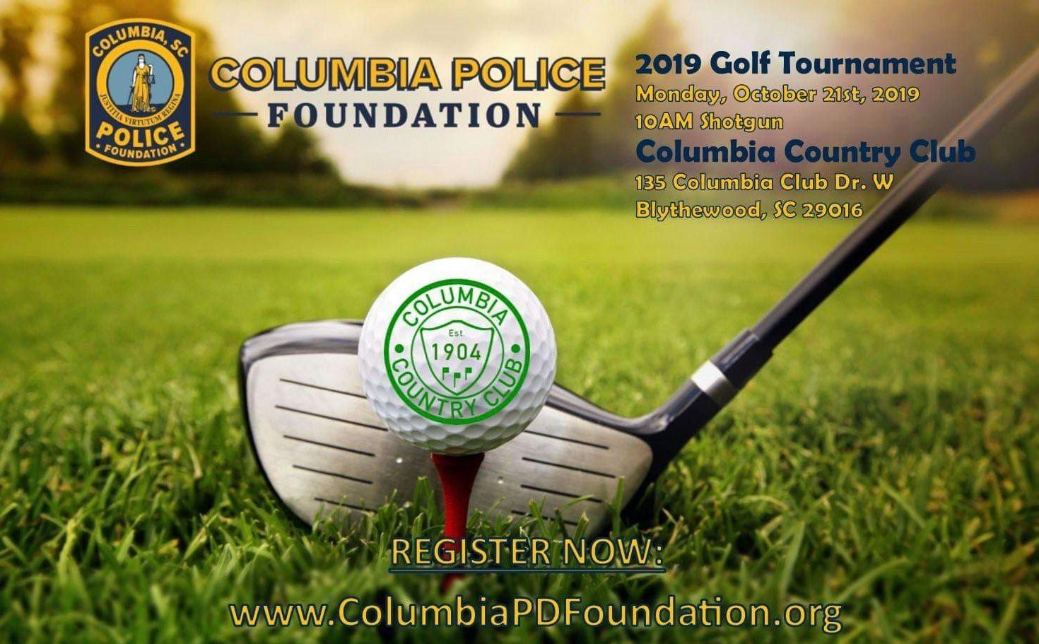 Columbia Police Foundation - 2019 Golf Tournament