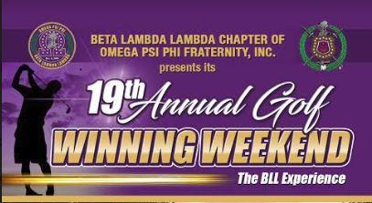 Beta Lambda Lambda's 19th Annual Golf Tournament