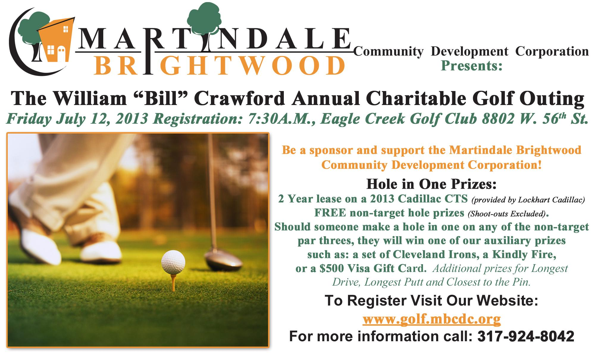 """William """"Bill"""" Crawford Charitable Golf Outing"""