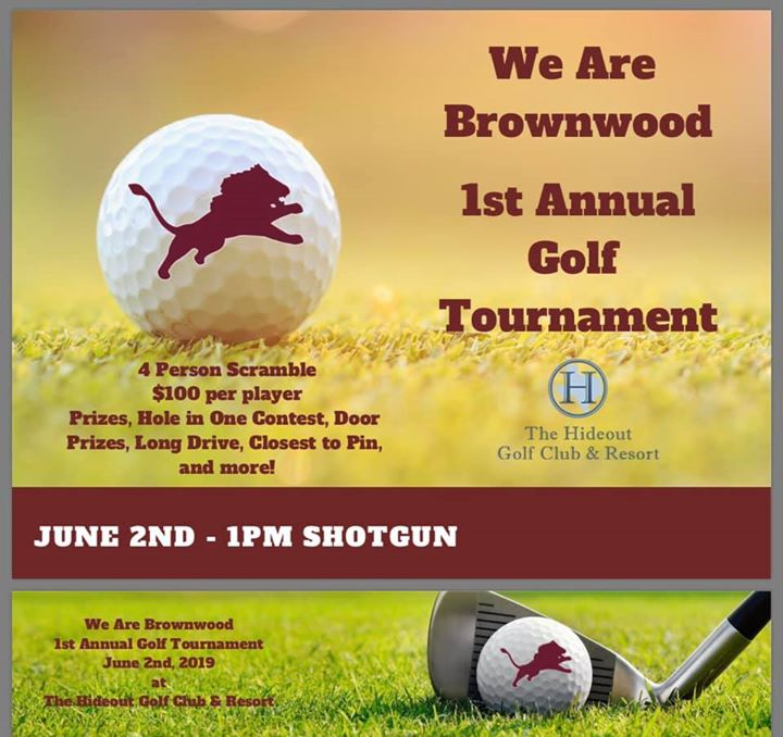 'We are Brownwood' 1st Annual Golf Tournament