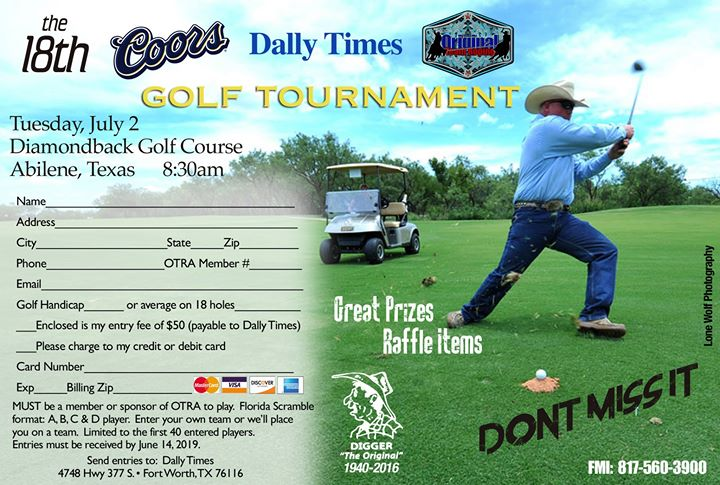 Coors/Dally Times Golf Tournament