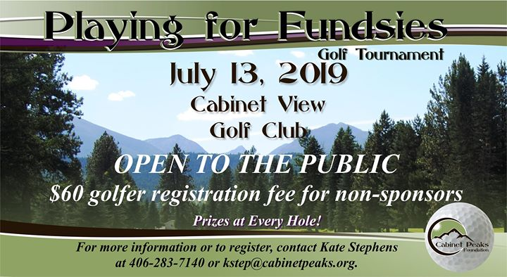 Playing for Fundsies Golf Tournament