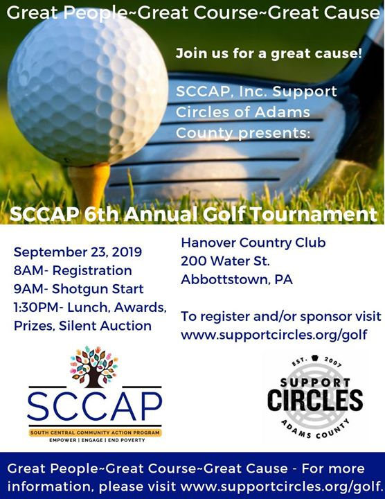 SCCAP, Inc 6th Annual Golf Tournament
