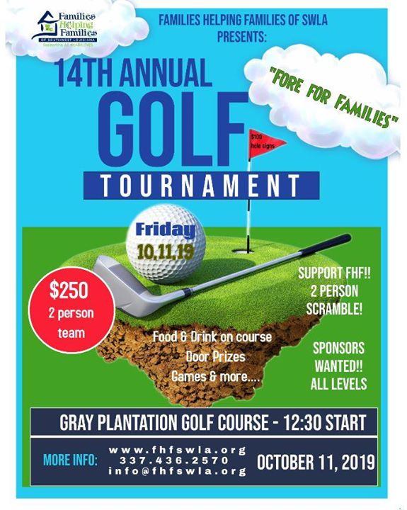 FHF Golf Tournament - Fore for Families