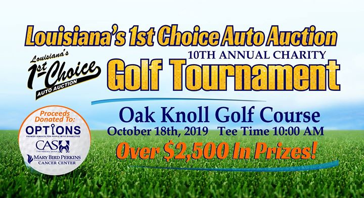 10th Annual Charity Golf Tournament