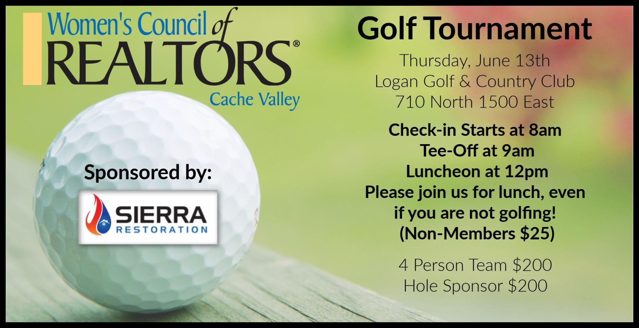 WCR Annual Golf Tournament
