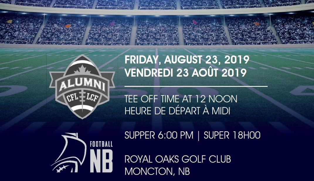 2019 Football New Brunswick CFL Alumni Golf Classic
