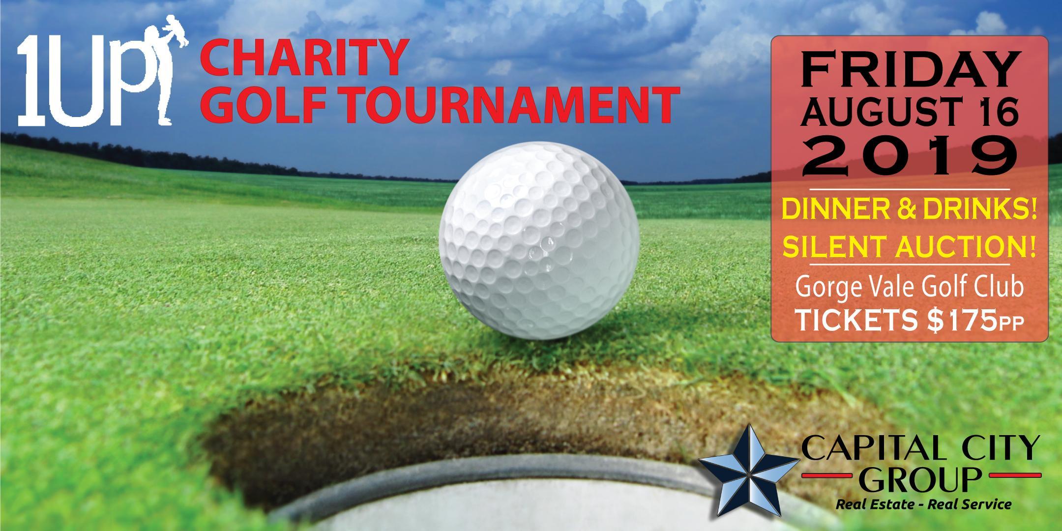 1Up Charity Golf Tournament & Banquet