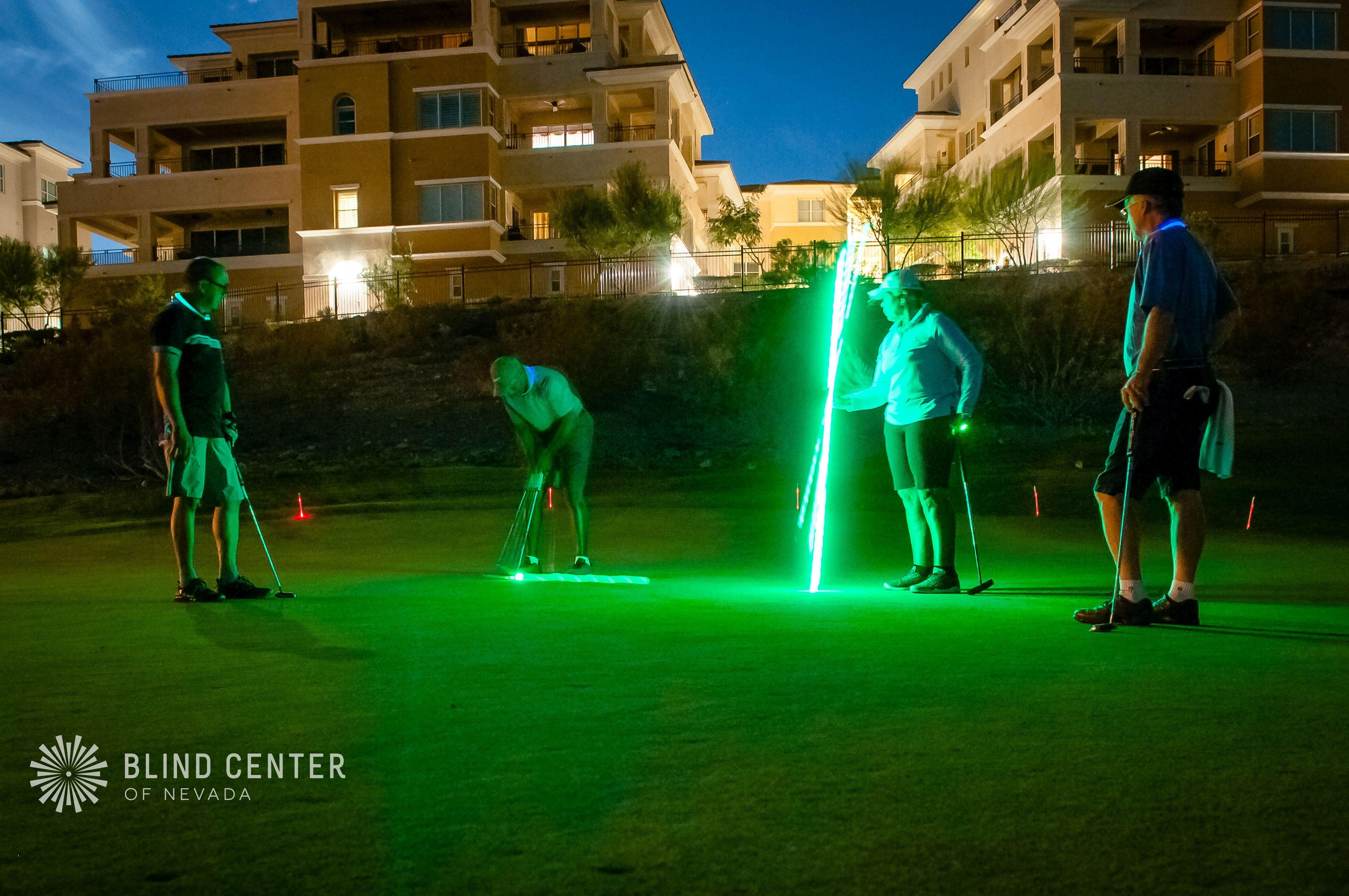 8th Annual Blind Center Glow Golf Tournament