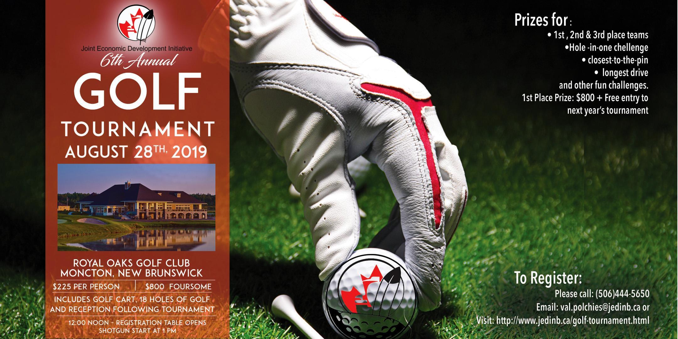 JEDI's 6th Annual Golf Tournament