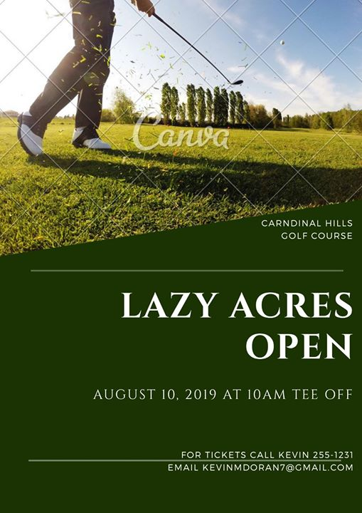 Lazy Acres Golf Tournament