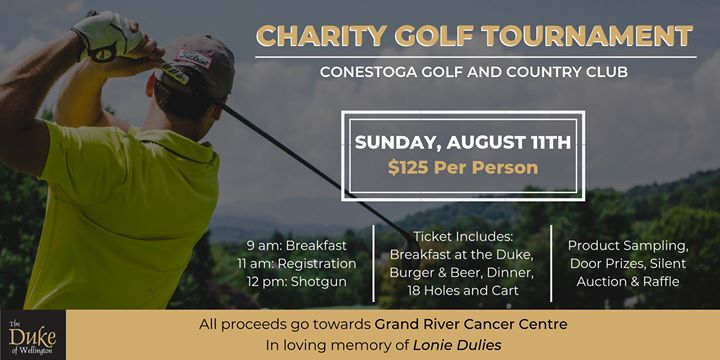 Duke of Wellington's Charity Golf Tournament