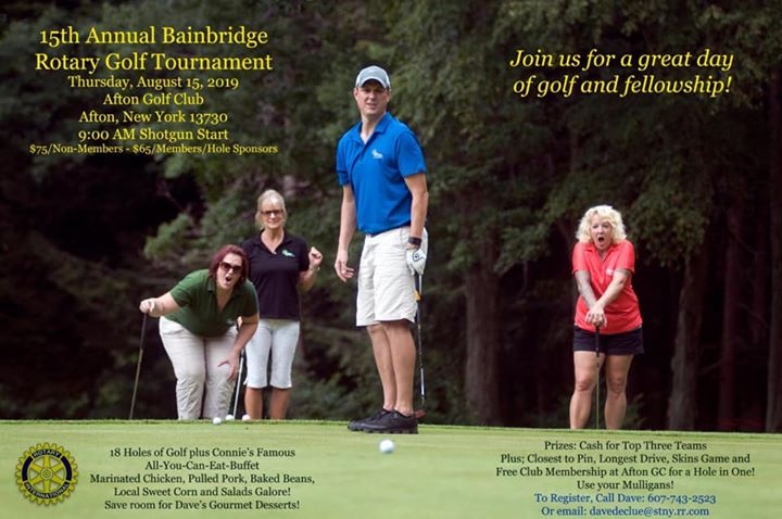 15rh Annual Bainbridge Rotary Golf Tournament