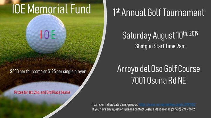 IOE 1st Annual Golf Tournament