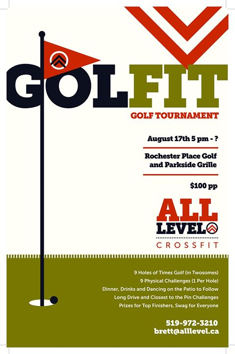 GolFit--Fitness Golf Tournament