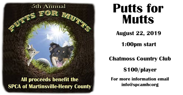 Putts for Mutts Golf Tournament
