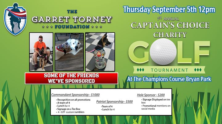 1st Annual Garret Torney Foundation Golf Tournament