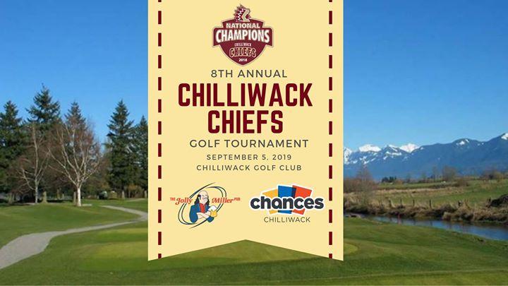 8th Annual Chilliwack Chiefs Golf Tournament