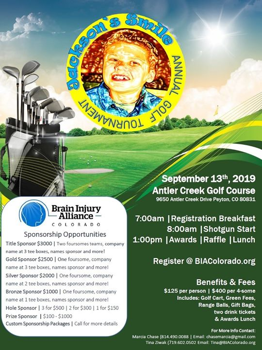 Jackson's Smile Golf Tournament