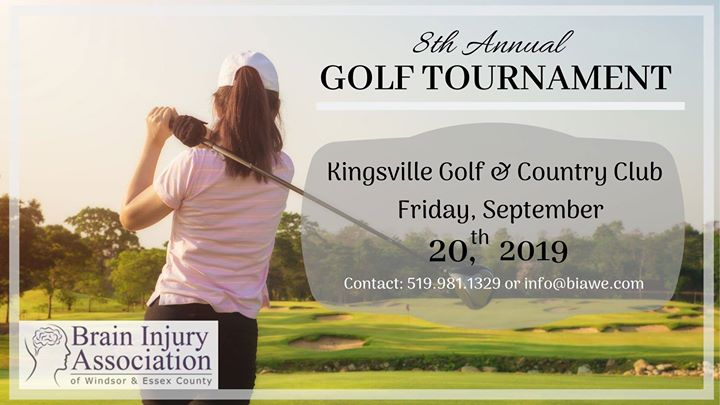 8th Annual Charity Golf Tournament