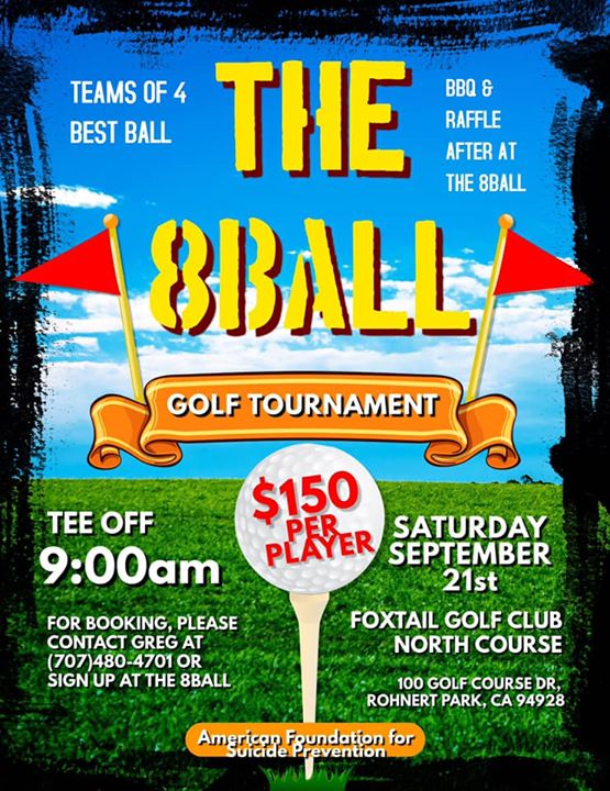 8Ball Charity Golf Tournament