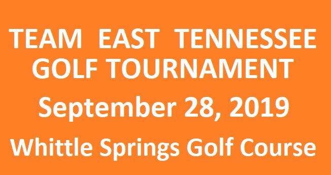 Team East Tennessee Golf Tournament