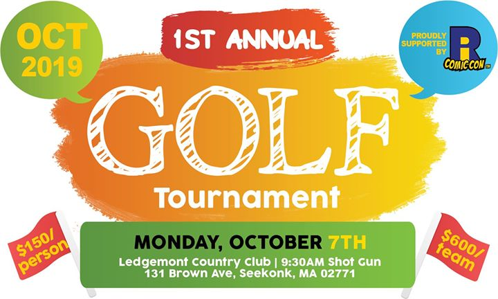 1st Annual Golf Tournament