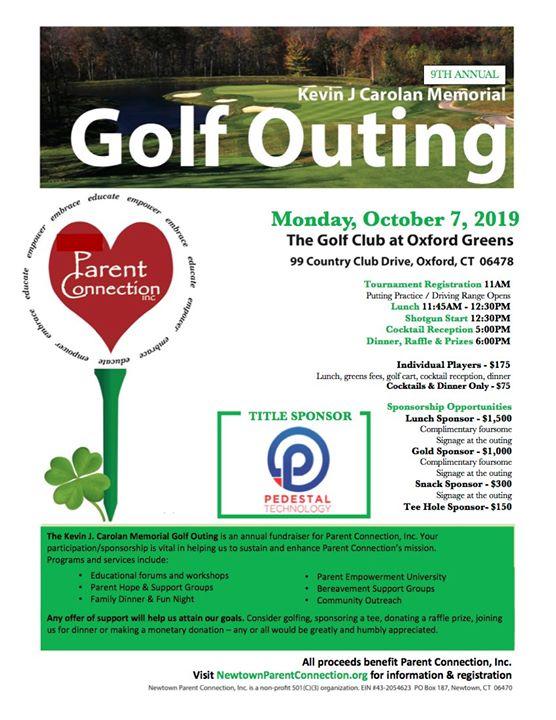 9th Annual Kevin J. Carolan Golf Tournament