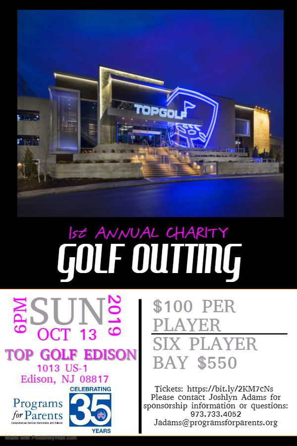 Programs for Parents Top Golf Fundraising Event