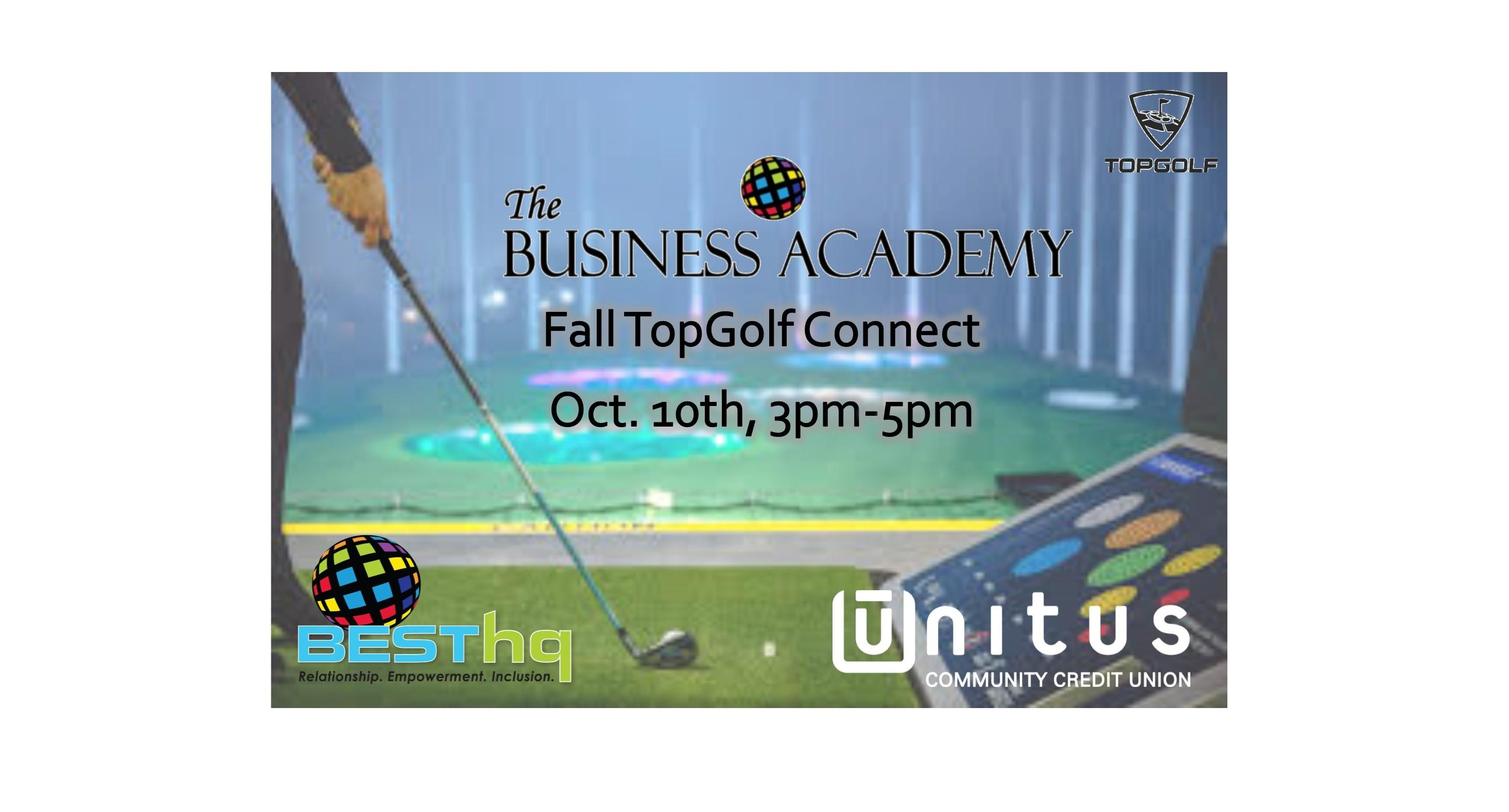 BESThq's Business Academy: Fall TopGolf Connect
