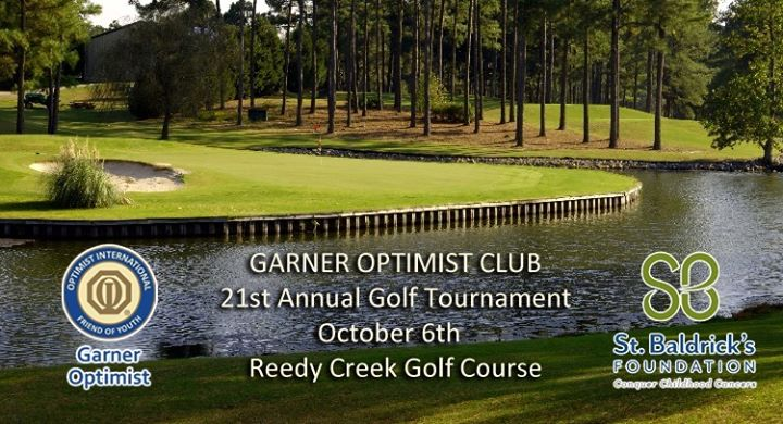 Garner Optimist Club 21st Annual Golf Tournament