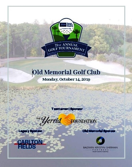 Tampa General Hospital 21st Annual Golf Tournament