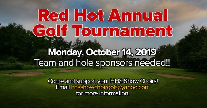 Red Hot Annual Golf Tournament