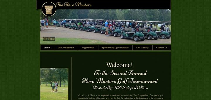 Hero Masters Golf Tournament