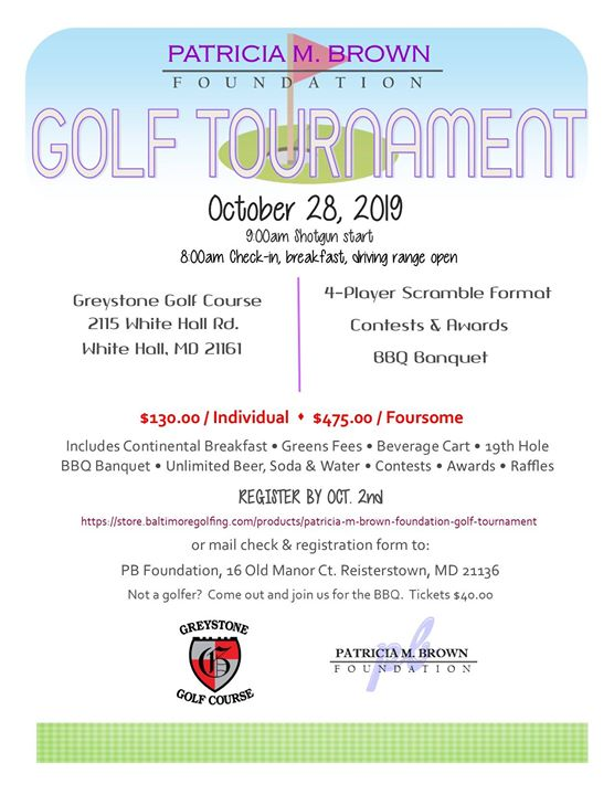 PB Foundation GOLF Tournament