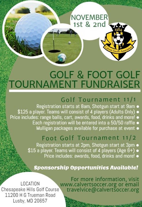 CSA Foot Golf Tournament Fundraiser