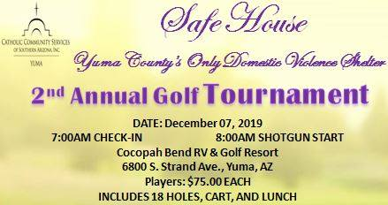 2nd Annual Safe House Golf Tournament
