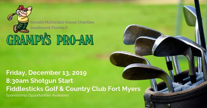 3rd Annual Grampy's Pro-Am Golf Tournament