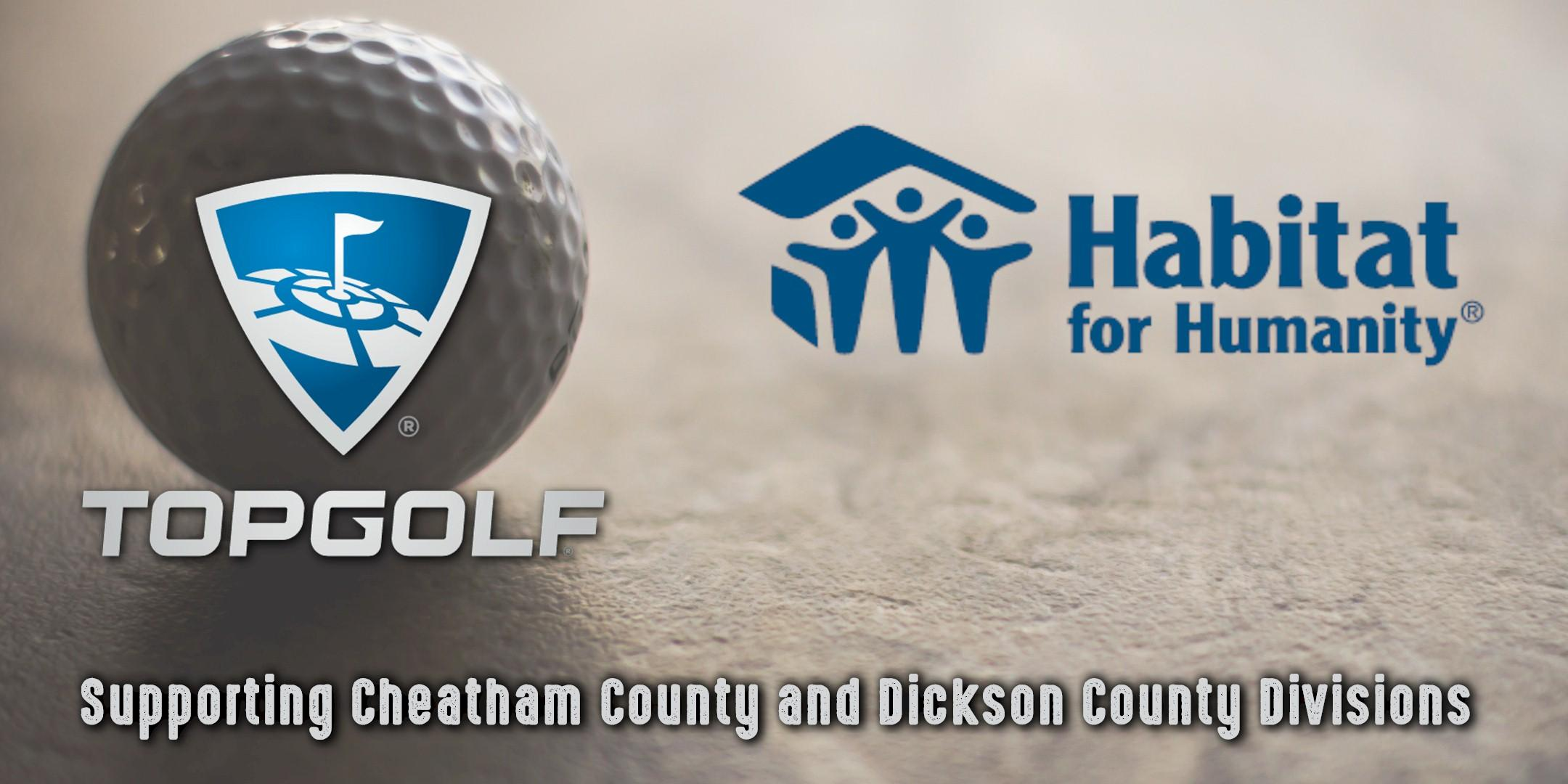 Habitat For Humanity Top Golf Evening of Fun for Dickson/Cheatham County