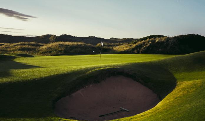 Golf Course Bunker 1