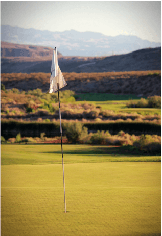 Golf Course Flag 1