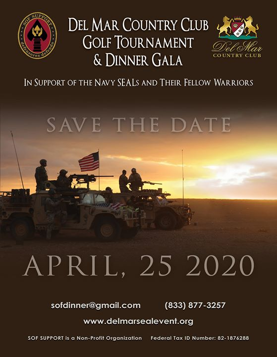 Del Mar Golf Tournament and Dinner Gala