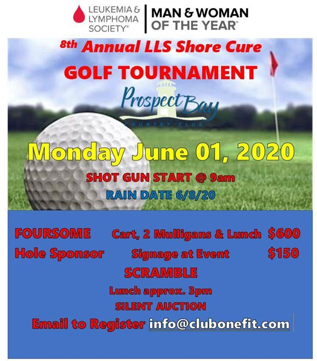 8th Annual LLS Shore Cure Golf Tournament