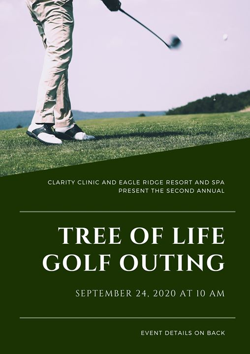 "Second annual ""Tree of Life"" golf outing"