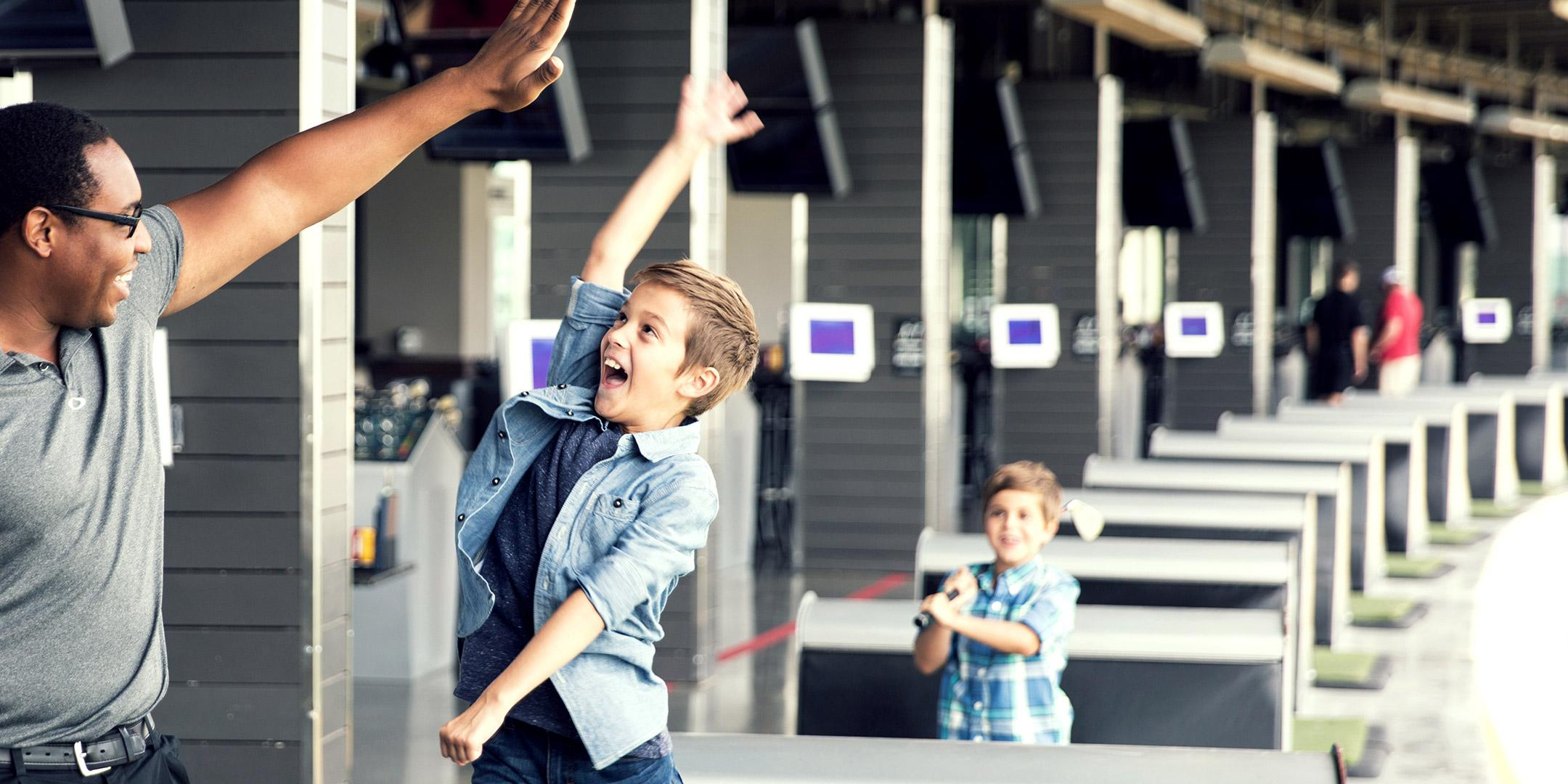 Kids Spring Academy 2020 at Topgolf Greenville