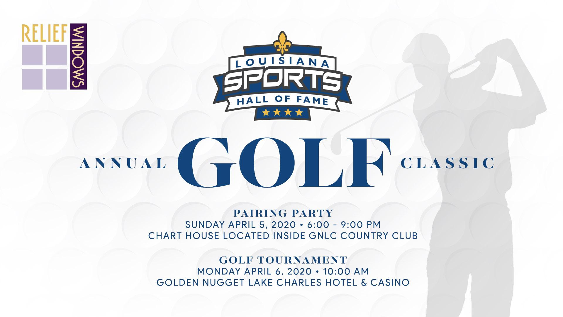 LSHOF Annual Golf Classic presented by Relief Windows