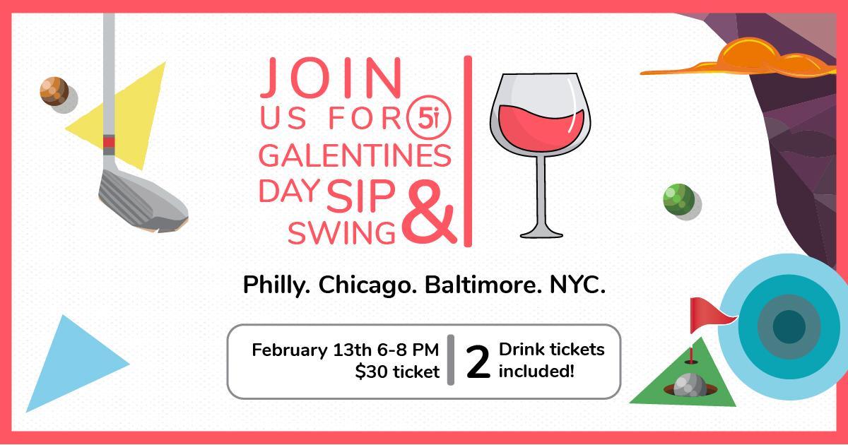Sip & Swing - Baltimore Golf Event for Women
