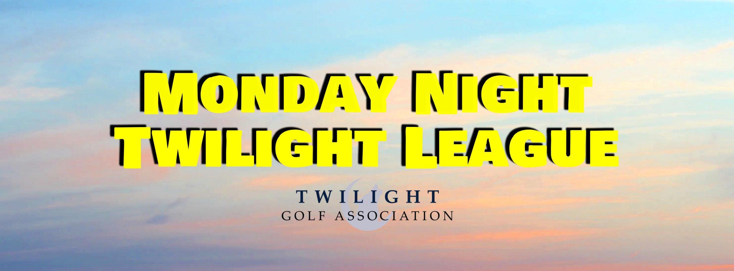 Monday Night Twilight League at Wyncote Golf Club