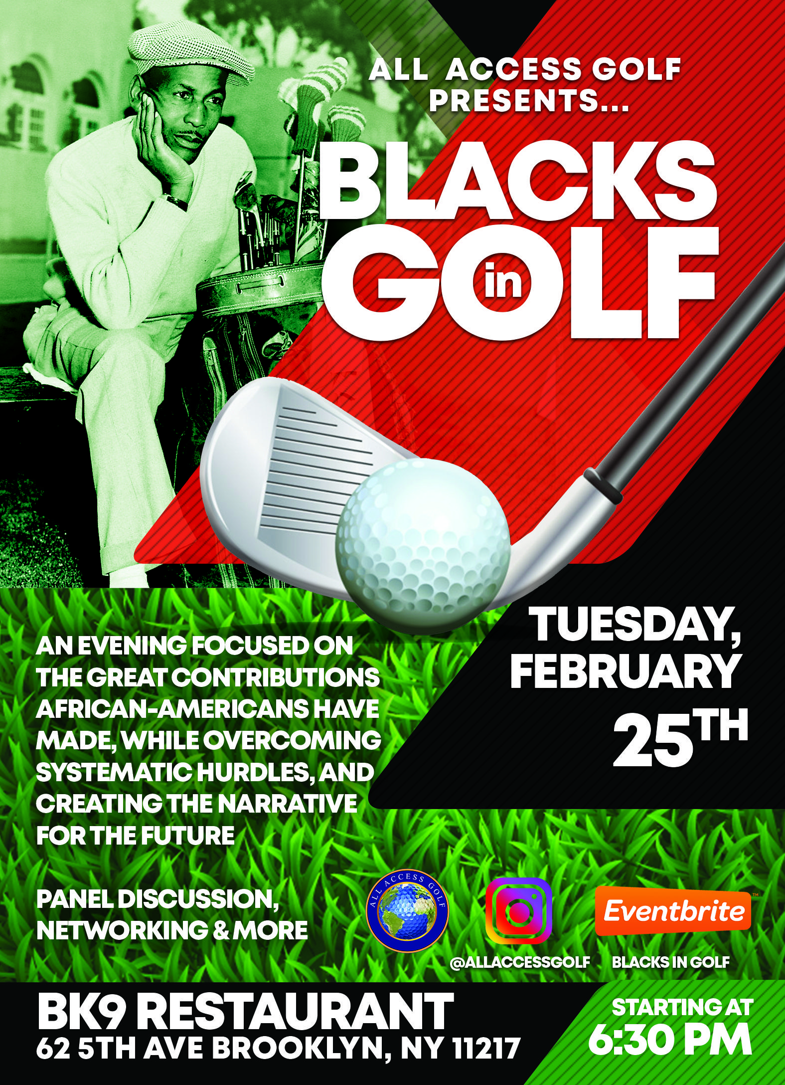 Blacks In Golf